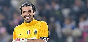Gigi Buffon, 34 anni, alla Juve dal 2001. LaPresse