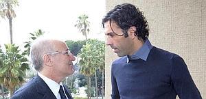 Matteo Gianello, col suo legale Chiacchio. Ansa