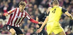Fernando Llorente, 27 anni, gioca nell'Athletic Bilbao. Ansa