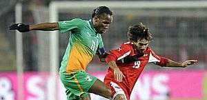 Didier Drogba, 34 anni, con la Costa d'Avorio. Ansa