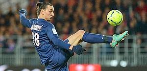 Zlatan Ibrahimovic, 31 anni, 18 gol in Ligue 1. Afp