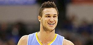 Danilo Gallinari, 24, has a 16.2 points average this season. Ap