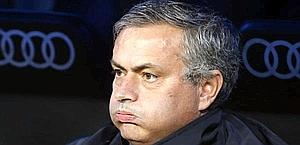 José Mourinho, al centro di mille polemiche anche al Real. Ansa