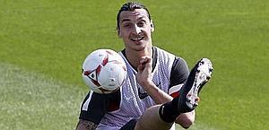 Zlatan Ibrahimovic, prima stagione al Psg. Reuters