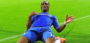 Didier Drogba, for years an absolute phenomenon at Chelsea. Ansa