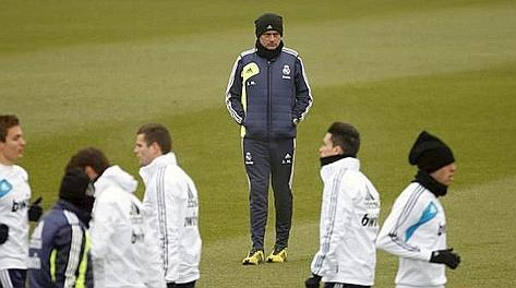José Mourinho, 49 anni, terza stagione al Real Madrid. Epa