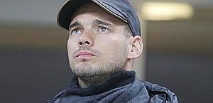 Wesley Sneijder è vicecampione del mondo con l'Olanda. Ap