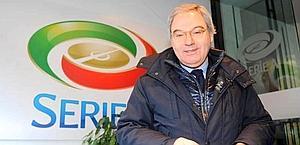 Maurizio Beretta, 57 anni, presidente della Lega calcio. LaPresse