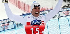Christof Innerhofer, 28 anni. Ansa