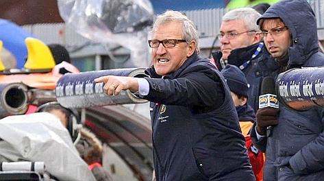Gigi Delneri, tre mesi sulla panchina del Genoa. Ap