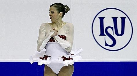 Carolina Kostner, 25 anni, oro iridato 2012. LaPresse
