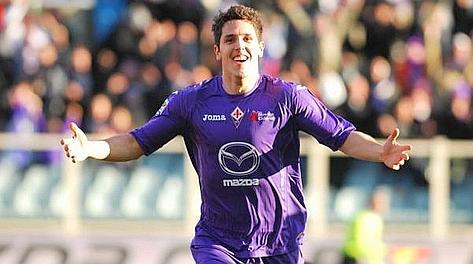 Stevan Jovetic, autore del secondo gol al Parma. Lapresse