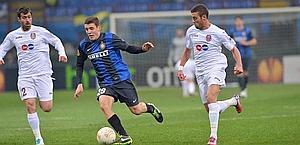 Mateo Kovacic in azione. Bozzani