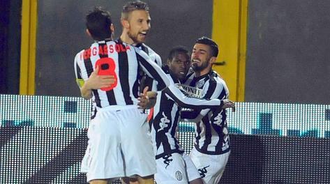 Festa Siena ancora una volta contro la Lazio. LaPresse