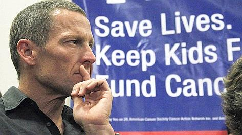 Lance Armstrong, 41 anni. Ap
