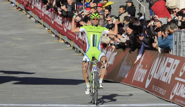 A sensational Moser in Siena The Strade Bianche race is his / Photo