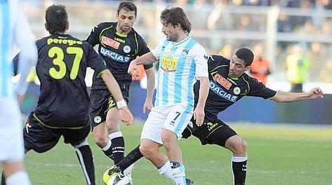 Giuseppe Sculli, attualmente in forza al Pescara. LaPresse
