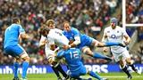 Pitched battle at Twickenham for the Azzurri. Epa