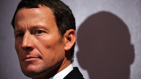 Lance Armstrong, 41 anni e cinque figli. Afp