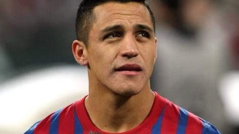 Alexis Sanchez, 24 anni, è un attaccante del Barcellona. Forte