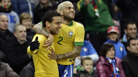 Товарищеский матч. Италия - Бразилия 2:2. Репетиция  финала ЧМ-2014? - изображение 2