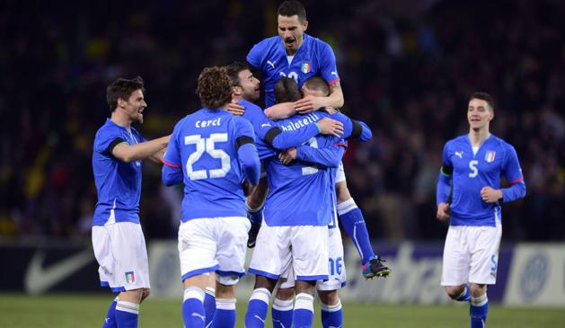 Товарищеский матч. Италия - Бразилия 2:2. Репетиция  финала ЧМ-2014? - изображение 3