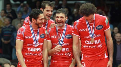 Piacenza fa festa dopo il trionfo in Challenge Cup. Tarantini