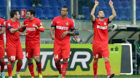 Rodrigo Palacio, 12 gol in campionato quest'anno. Afp