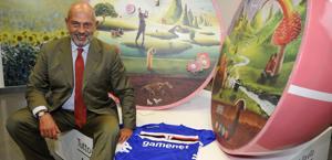 Il presidente della Samp, Edoardo Garrone. Ipp