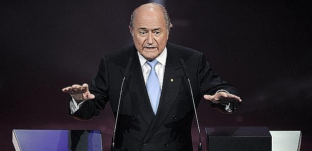 Sepp Blatter, 74 anni, da 35 all'interno della Fifa. Afp