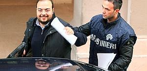 L'arresto di Giuseppe Postiglione, ex presidente del Potenza. Ansa