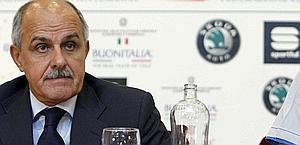 Renato Di Rocco, presidente della Fci. Bettini