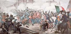 Garibaldi in battaglia