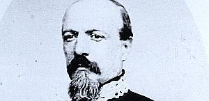 Il generale  Luigi Mezzacapo: espugnò la fortezza di Civitella