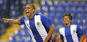 David Trezeguet è rinato all'Hercules. Reuters