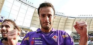 Alberto Gilardino, centravanti della Fiorentina.
