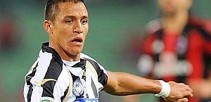 Alexis Sanchez, pezzo pregiato della gioielleria-Udinese. Lapresse
