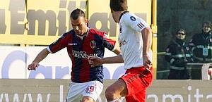 Riccardo Meggiorini è in bilico tra Bologna e Genoa. Lapresse