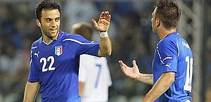 Giuseppe Rossi è un perno della Nazionale di Prandelli. Reuters