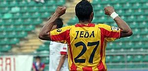 Jeda è nei piani del Novara: pronta un'offerta al Lecce. Lapresse