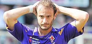 Alberto Gilardino, 29 anni, è in rotta con la Fiorentina. Lapresse