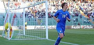 Manolo Gabbiadini, 6 gol durante la gestione Ferrara. Insidefoto