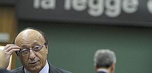 L'ex d.g. della Juventus Luciano Moggi. Ansa