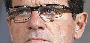 Fabio Capello, ha già il biglietto per l'Europeo. Reuters