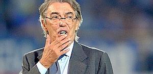 Massimo Moratti, 66 anni, presidente dell'Inter. LaPresse