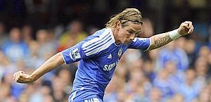 Fernando Torres, attaccante del Chelsea. Ap