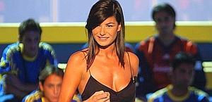 Ilaria D'Amico, giornalista di Sky.