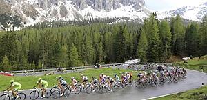 Lo spettacolo del grande ciclismo Gazzetta. Lapresse