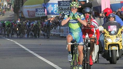 Danilo Di LUca vince nel 2007 l'ultima edizione della Milano-Torino