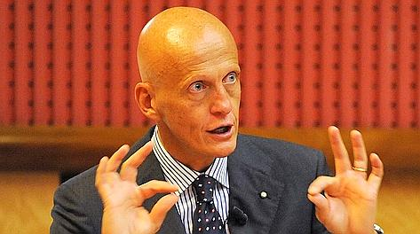 L'ex arbitro internazionale Pierluigi Collina. Ansa